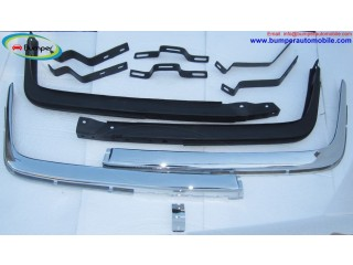 Front and rear bumpers W107