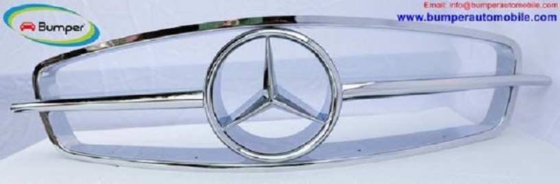front-grill-for-mercedes-190-sl-roadster-big-2