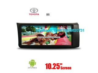 Toyota Camry middle east radio update android GPS navigation camera