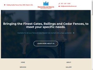 Fence Company in Addison, Texas