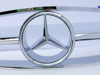 Mercedes 190SL Grille (1955-1963) by stainless steel