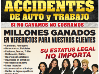 ACCIDENTES DE AUTO y TRABAJO